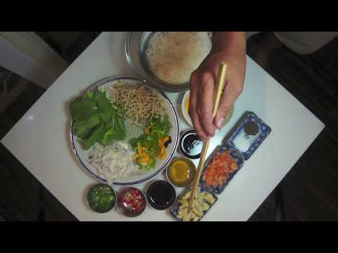 How to make Singapore Fried Noodles Recipe - Asian Wok Stir Fry