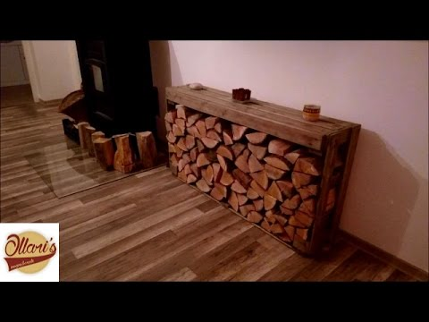 DIY // Firewood storage from Pallets