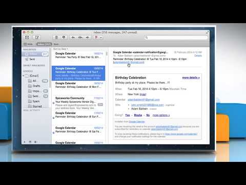 How to Delete Email Messages from the Mac® Mail in OS X™