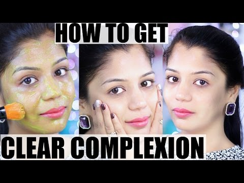 How To Get Clear Complexion & Clear Skin in 7 Days | SuperPrincessjo