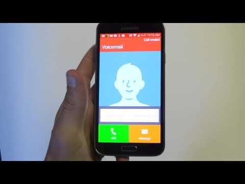 Samsung Galaxy S5: Setup Voicemail - Fliptroniks.com
