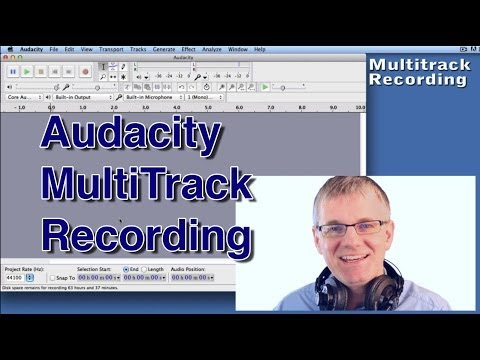 Audacity Tutorial MultiTrack Audacity Music Recording & Edit An Easy Tutorial Episode 2