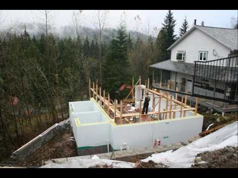 Insulated Concrete Forms - Pool House Time-Lapse