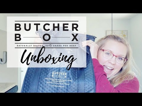Butcher Box Unboxing + Review | Grass Fed Grass Finished Meat Delivery Service