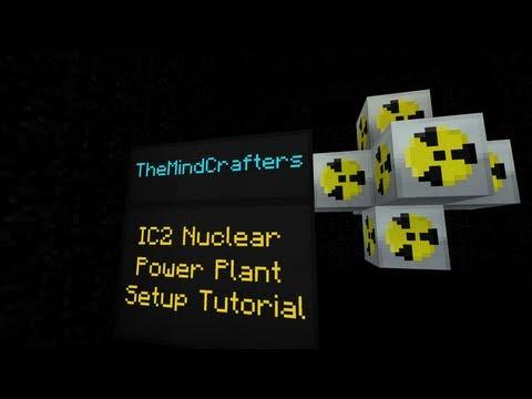 IC2 Nuclear Power Plant Setup Tutorial