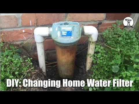 DIY: Hard Water Filter Change