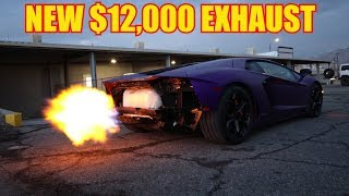 Maybe the Loudest Aventador in the World *Frequency Intelligence Exhaust*