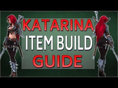 HOW TO BUILD KATARINA | Item Build Guide - Diamond Katarina explains | Lunacy