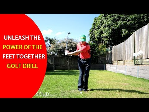Feet Together Golf Drill: Learn The (#1 Most Powerful) Drill In Golf