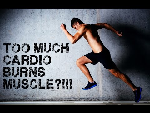 Can Too Much Cardio Burn Muscle?!!!