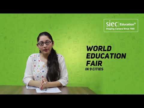 SIEC's World Education Fair 2018 in Bangalore   Study Abroad