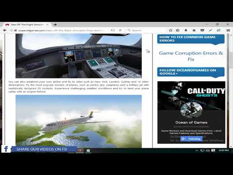 How to download Take Off the Flight Simulator for free(PC)