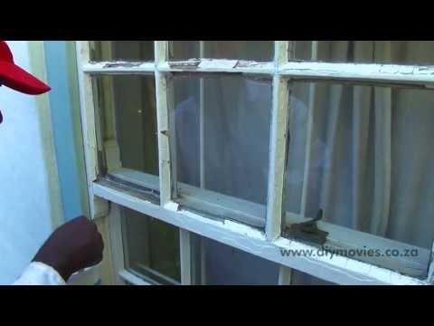 Applying Window Putty QUICK & EASY