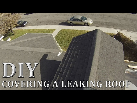 How to Tarp a Roof Dormer
