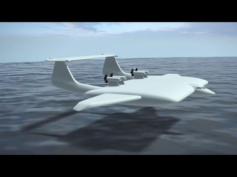 Russia's huge ground effect vehicle; Airbus patent shows removable aircraft cabins - Compilation