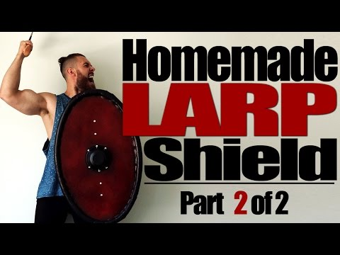 How to Make a LARP Shield | Part 2 of 2