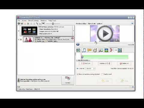 Cut off unwanted parts of video with ConvertXtoDVD