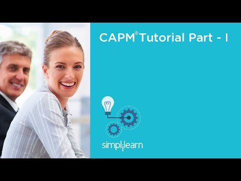 Introduction To CAPM® Certification Training   Simplilearn