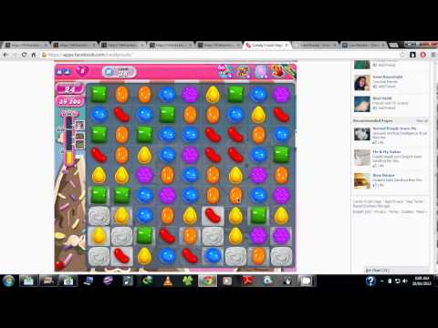 Candy Crush Saga Combine Blasting Two Chocolate Ball Candies