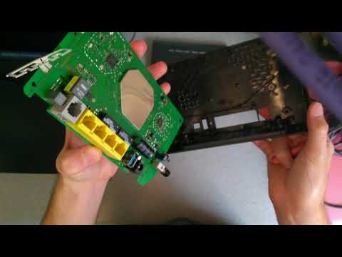 Inside: TalkTalk Super Router (Huawei HG633) Wireless ADSL2+/VDSL
