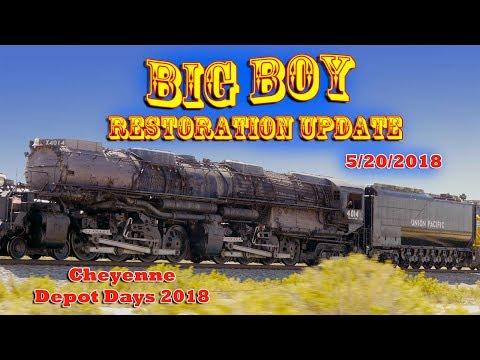 Big Boy Restoration Update - Cheyenne Depot Days 2018