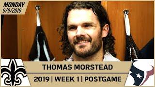 Thomas Morstead Reflects on Wil Lutz Kick & Career | New Orleans Saints