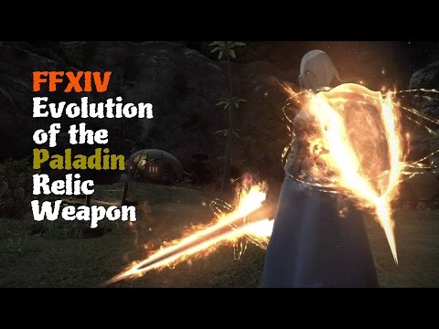 FFXIV Evolution of the Paladin Relic Weapon [Feat. Alexander Brute Justice Theme]