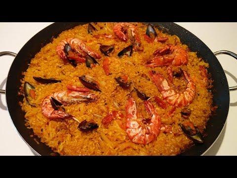 How To Make Spanish Paella | Homemade Paella | Easy Paella Recipe | For 6 | Food Network