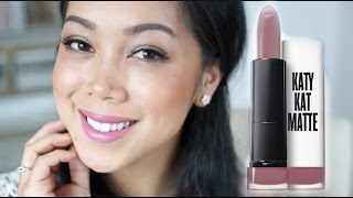 NEW Covergirl Katy Kat Matte Lipsticks - itsjudytime first impression review