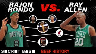 """Ray Allen and Rajon Rondo went from """"brothers"""" to beef"""