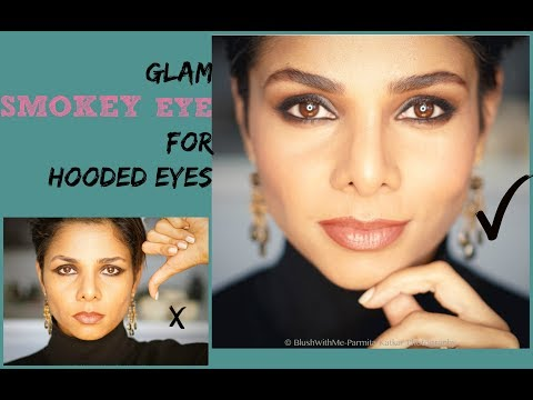 Perfect SMOKEY EYE for HOODED EYES: EASY STEP BY STEP TUTORIAL/ BLUSH WITH ME-PARMITA