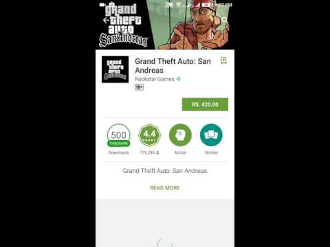 HOW TO GET GTA SAN ANDREAS FREE ON ANDROID