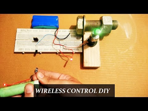 Remote control wireless circuit for Lights and Fans DIY || Step by Step