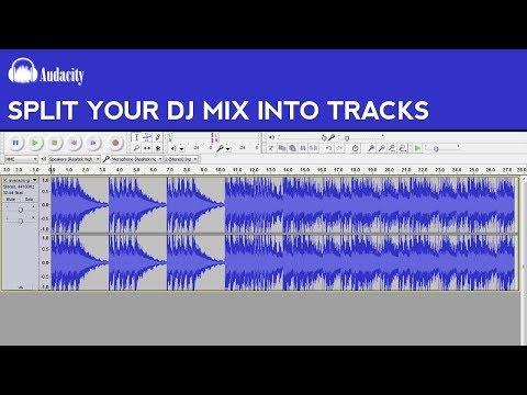 How to Split Your DJ Mix Into Tracks