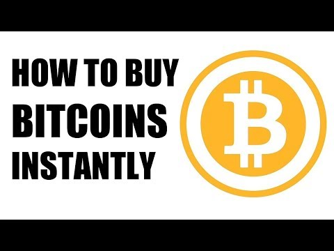How to buy bitcoin instantly with your credit card or bank account