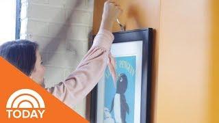 Genius Hack To Hang Wall Art | TODAY