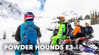 Snowbiking Unexplored Terrain in the Backcountry | Powder Hounds E3