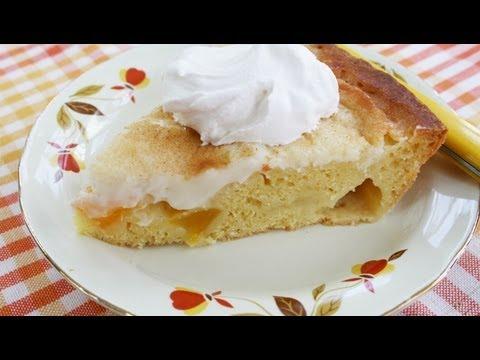 Peaches & Cream Pie Recipe