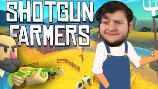Shotgun Farmers -  Pistol, Peashooter, or Peace!!!  (Shotgun Farmers PC Online Funny Moments) gaming