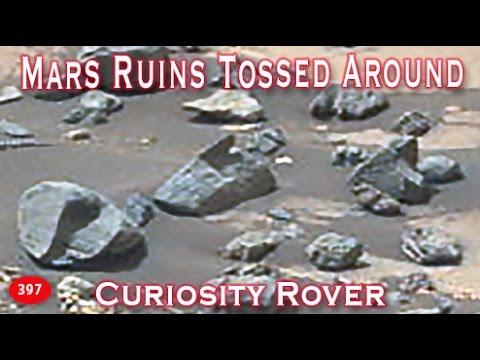 Intelligently Built Debris Tossed Around On Mars