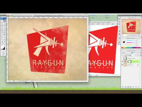 Photoshop Tutorial : Using Textures as Layer Masks