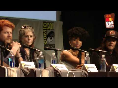 The Walking Dead - SDCC full panel (2015)