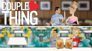 couple thing barbie and ken