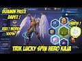 Trik Lucky Spin Hero Kaja Mobile Legends !
