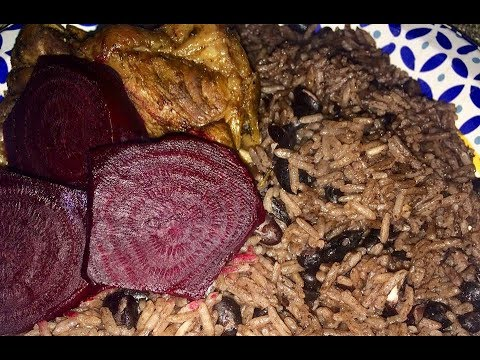 Rice and peas the Haitian way
