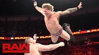 Chris Jericho vs. Samoa Joe: Raw, April 17, 2017