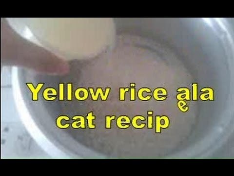 Yellow rice ala cat recipe