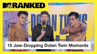 15 Times The Dolan Twins Made Our Jaws Drop 😱   MTV Ranked