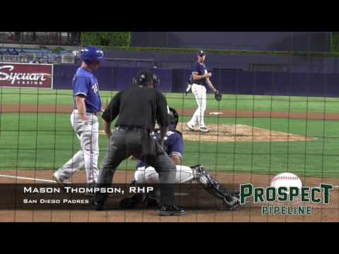 Mason Thompson Prospect Video, RHP, San Diego Padres