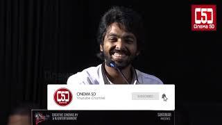 Gv Prakash Speech | 100% kadhal Audio Launch |C5d